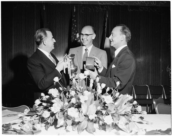 Rose awards, 1953