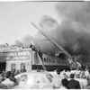 Detail 19 of 19, Fire at Pico Boulevard and Broadway, 1954