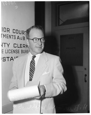 New judge (Pasadena), 1953