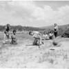Camp for blind children (Big Bear), 1954