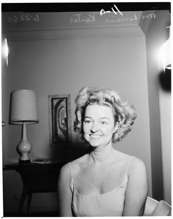Kanter story, 1960