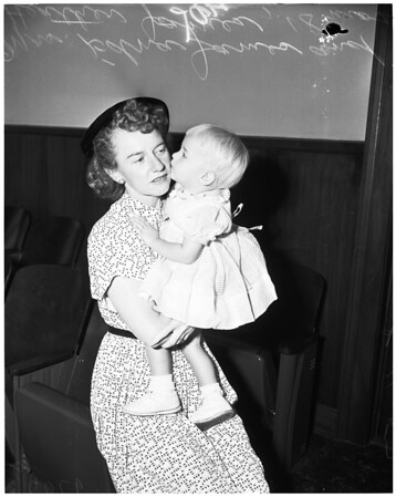 James adoption, 1953