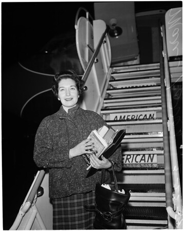 Arrival from New York, 1959