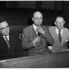 Detail 5 of 12, Un-American hearings at State Building (Doctors), 1954