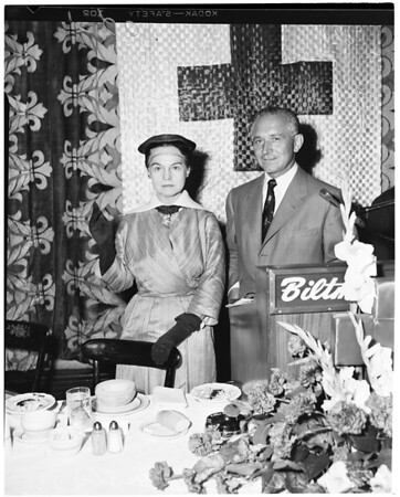 Red Cross luncheon, 1953