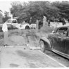 Auto accident (Laurel Canyon and Sunset Boulevard), 1954
