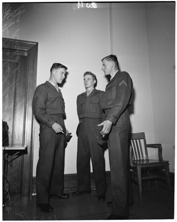 U.S. Marines who claim to have been kidnapped, 1953