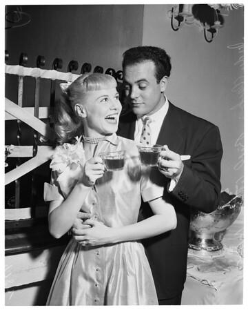 Judy Clark's wedding, 1953