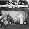 Christmas, Santa Monica nativity, 1953