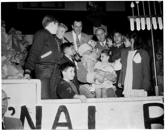 B'nai B'rith Church Christmas party, 1952