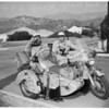 Motorcycle world tour, 1953