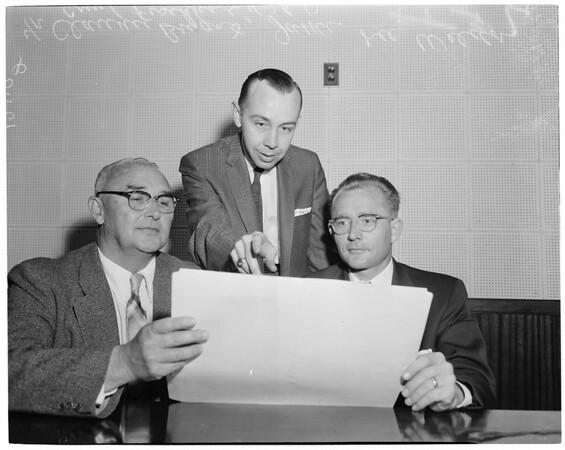 Communist hearing (California--Los Angeles), 1957