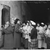 San Fernando Christmas Posada at Mission, 1953