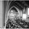 New church dedication (Hermosa Beach), 1953
