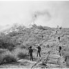 Detail 3 of 17, Fire at Dry Canyon 3 miles North East of Saugus, 1953