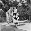 Detail 1 of 3, Circus Time Assistance League of Flintridge, 1955
