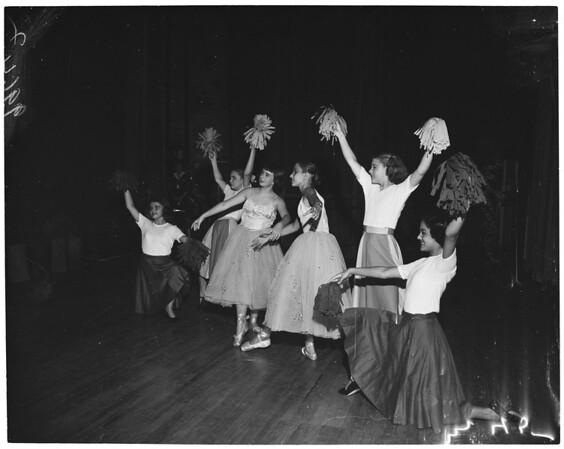 South Pasadena senior high school ballet, 1953