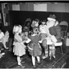 Blind children party, 1953