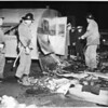 Trailer explodes (Ficket Street and Ramon Freeway), 1954