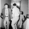 Detail 3 of 4, Doctor arrested to attempted robbery, 1953
