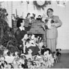 Christmas dolls (County Jail), 1953