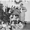 Christmas dolls (County Jail), 1953