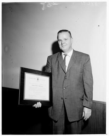 Detail 11 of 15, Clean air awards, 1960