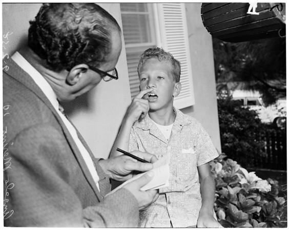Boy robbery, 1958
