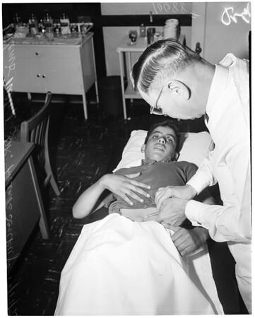 Pasteur treatment, 1953