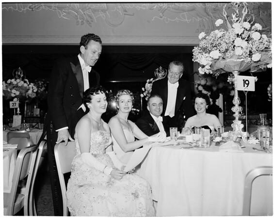 Ballet ball, 1953