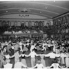 Folk dance festival (Christmas folk dance festival at Santa Monica Municipal Auditorium), 1953