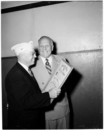 American Legion citation, 1953