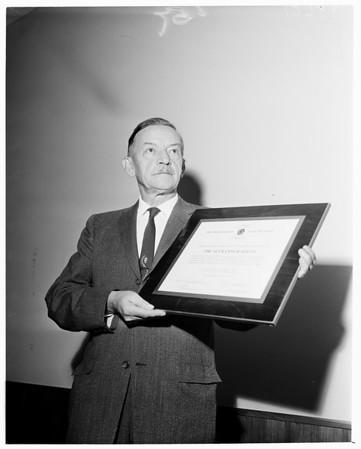 Detail 6 of 15, Clean air awards, 1960