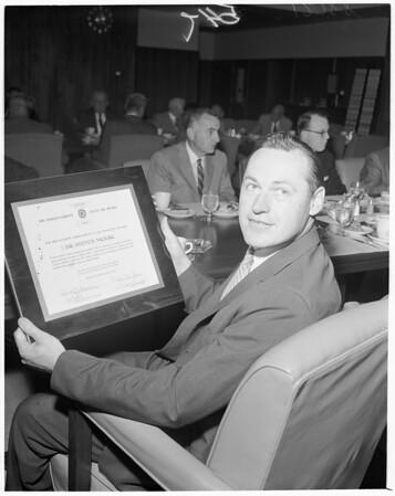 Detail 14 of 15, Clean air awards, 1960
