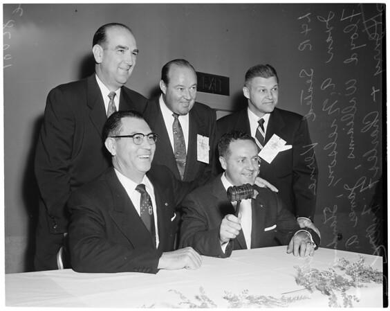 Food industries hi-jinks, 1953