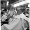 Barber retires, 1953
