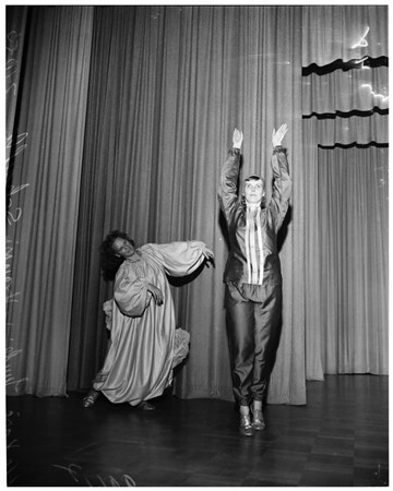 Dancers (Plummer Park), 1953