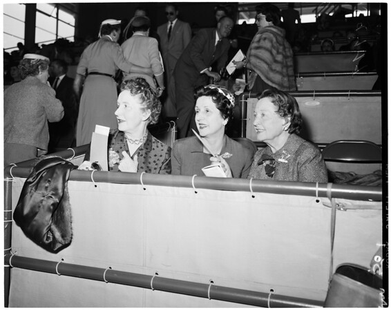 Detail 3 of 4, Santa Anita races, 1955