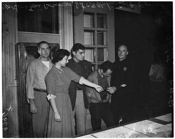 Car theft, 1953