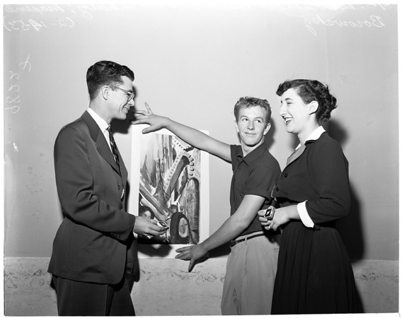 Scholastic Arts awards, 1953