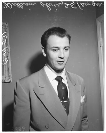 William Olvis (singer), 1953