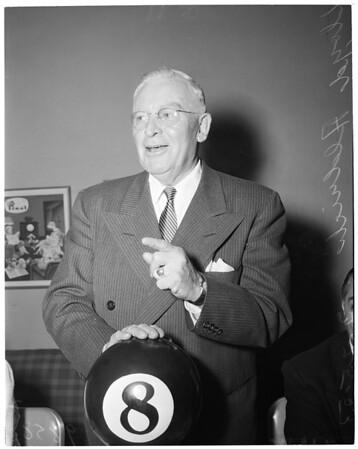 Aldrich dinner (Press Club), 1953