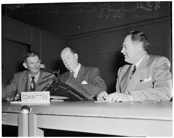 C.H.A. hearing, 1952