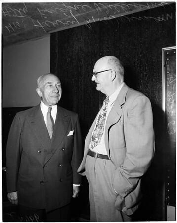 Million dollar suit, 1953