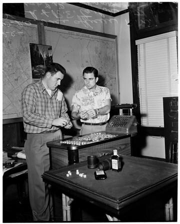 Gambling raid (Santa Monica Swim Club), 1953