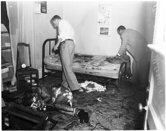 Murder (110 Velasco Street), 1954