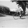 Bicycle trip, 1958