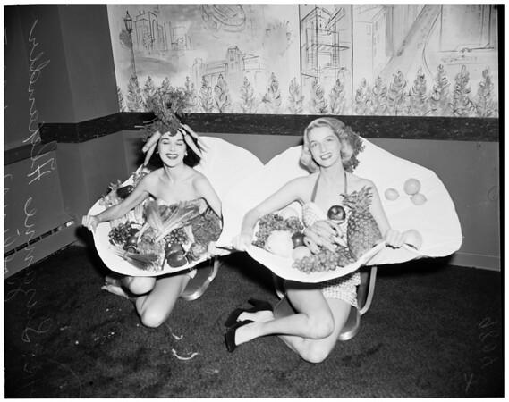Fruit and Vegetable Association convention (Statler Hotel), 1953
