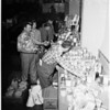 Christmas baskets for needy in La Ballona Valley, 1953