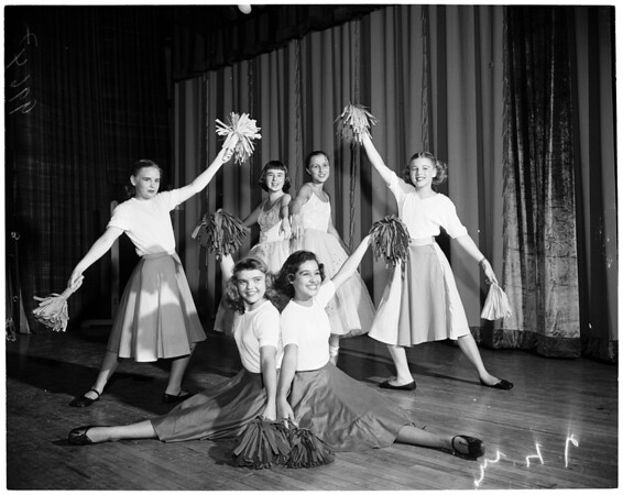 South Pasadena senior high school ballet, 1953